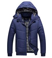 Теплая мужская зимняя куртка. Модель 6113, фото 3