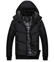Теплая мужская зимняя куртка. Модель 6113, фото 4