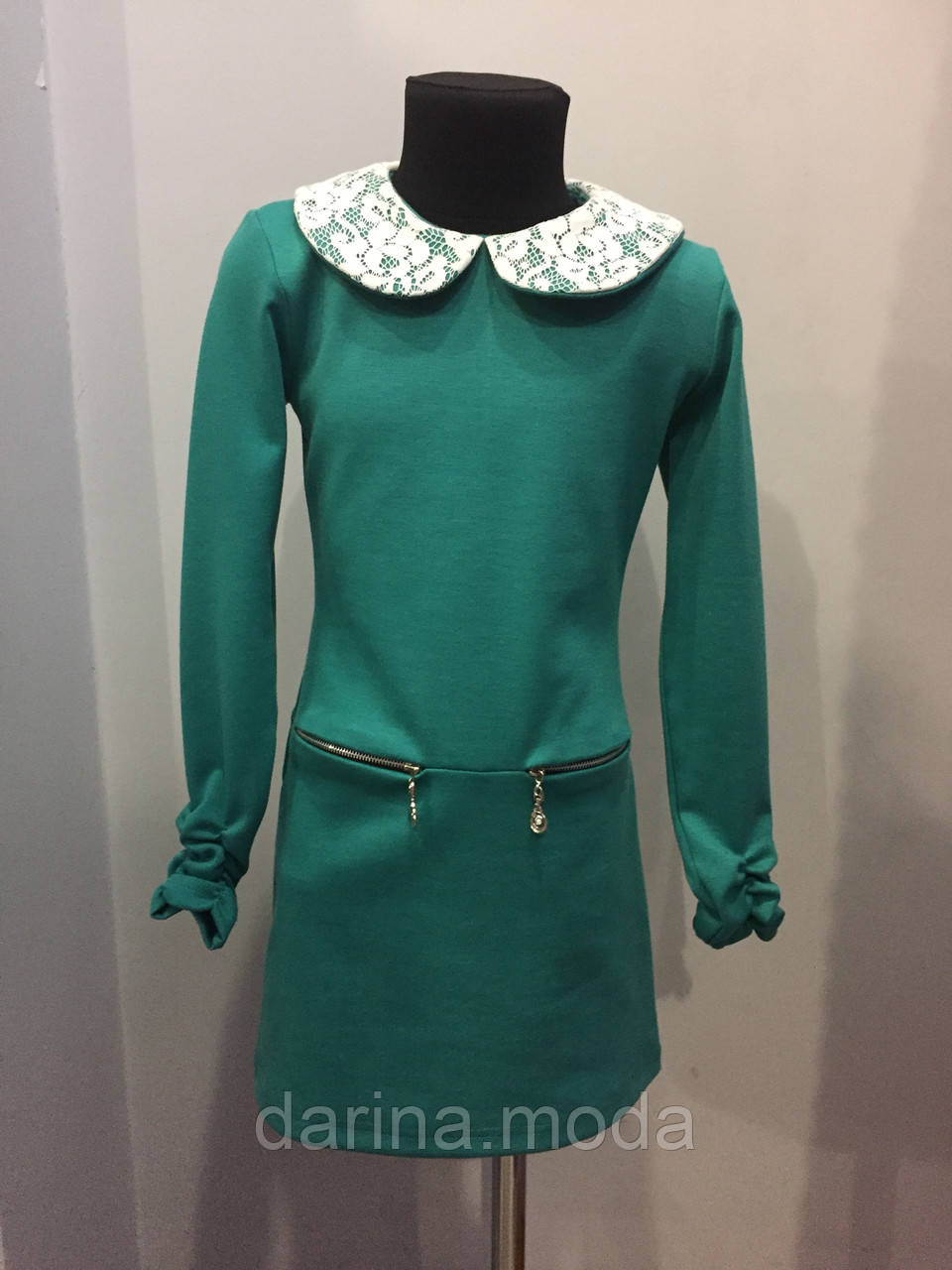 Трикотажное подростковое платье