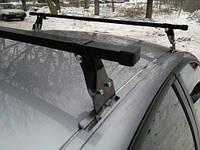 Багажник в штатное место (краб) Polo Кенгуру для Astra, Octavia Tour, 2 поперечины сталь1,28м