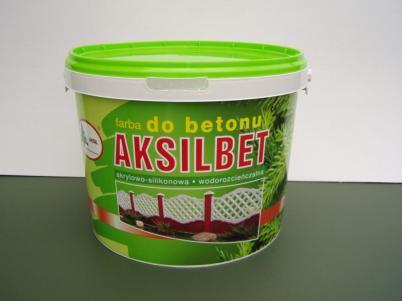 Краска для бетона AKSILBET