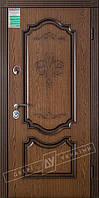 Двери входные БС Престиж КСМ Дуб тёмный рустикаль + патина