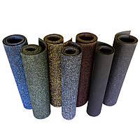 Резиновый коврик 1500х700х15 светло-коричневы