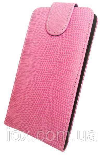 Чехол-флип Chic Case на магнитной застежке для Samsung Galaxy S5 Розовый