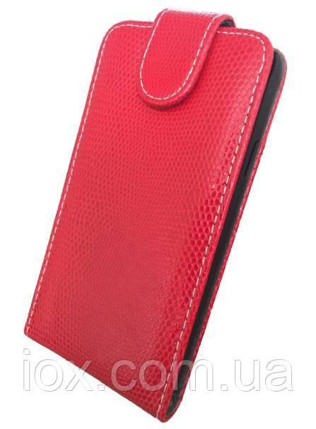 Чехол-флип Chic Case на магнитной застежке для Samsung Galaxy S5 Красный