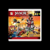 """Конструктор SY 597 """"NinjaGo"""", здание, 776 дет, в кор-ке"""