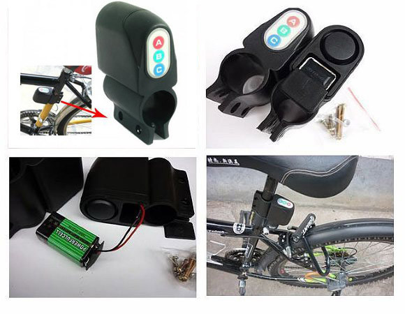 Велосигнализация ET-168 (для коляски, скутера, мопеда, самоката)