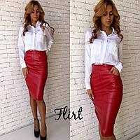 Блуза-рубашка из шелка с длинным рукавом разные цвета RfL151