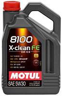 Масло моторное MOTUL 8100 X-CLEAN FE SAE 5W30 (4L)