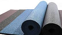 Резиновый коврик 1500х700х15 морская волна