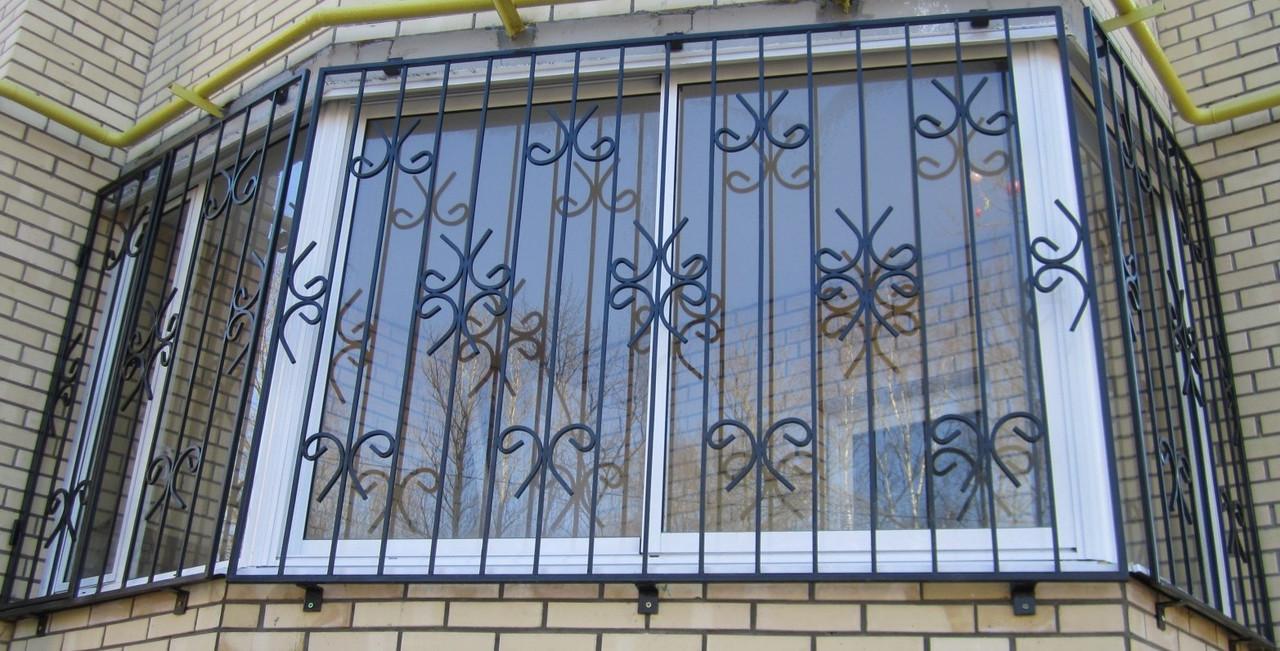 Решетка на окно простая - ФОП Дзюба В.В. в Запорожье