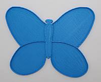 Органайзер для набора бисера бабочка, 4 шт. на палитре. Размер общий 120 х 95 мм