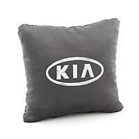 Автомобильная подушка KIA  флок, фото 1