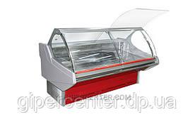 Холодильная витрина Технохолод Люкс ПВХС - Джорджия 1.0 (0..+8°С, 1027х1250х1260 мм, стекло гнутое)