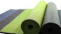 Резиновый коврик 1500х700х15 оливковый