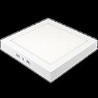 Светильник квадратный накладной Ilumia 039 ML-18-S220-NW 1400Лм, 18Вт, 220мм, 4000К