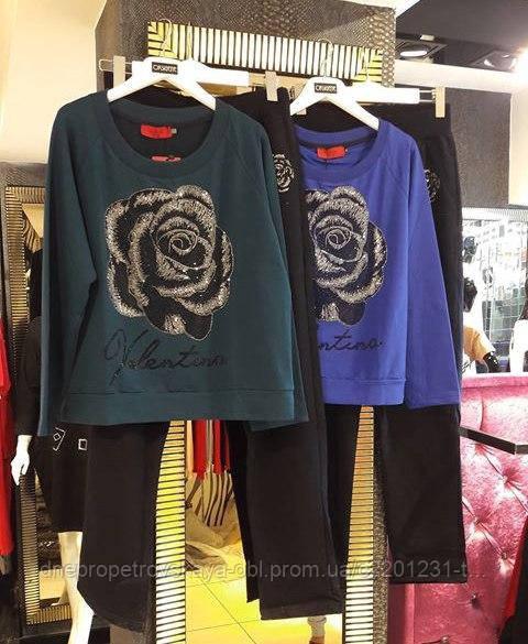 Турецкий костюм Valentino батальные размеры