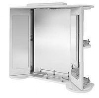 Зеркальный шкаф в  ванную Жемчуг поворотное