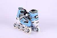 Ролики Alisher Sport MB 07 голубые