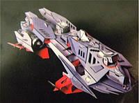 """3D Пазл  """"Судно для подводного плавания на подводных крыльях"""""""