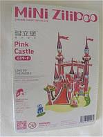 """Мини 3D Пазл """" Розовый замок"""""""
