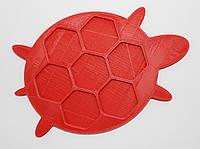 Органайзер для набора бисера черепаха, 7 шт. на палитре. Размер общий 130Х90 мм