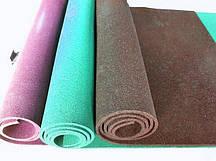 Резиновый коврик 1500х700х15 бирюзовый