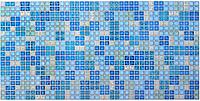 """Листовая панель ПВХ Регул """"Блик синий"""""""