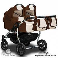 Детская коляска универсальная 2 в 1 Trans baby Jumper Duo 38/CR