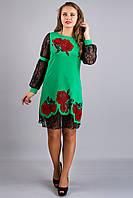 Платье Астра (ментол )