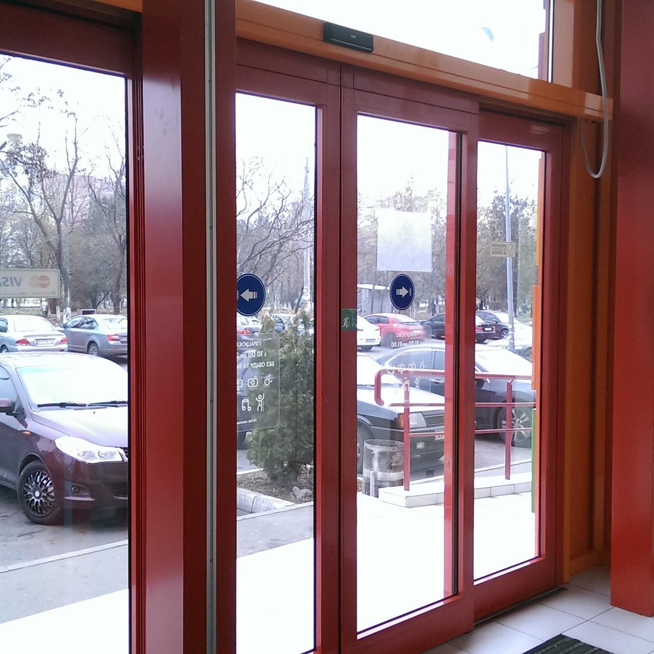 Автоматические раздвижные двери Tormax WD2201
