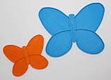 Органайзер для набора бисера бабочка, 4 шт. на палитре. Размер общий 80Х60 мм, фото 2