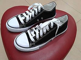 Кеды подростковые  черные 1166-2