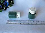 Флок. Цвет зелёный.  р-р 1 мм, объем 20 мл - цена 15 грн, фото 3