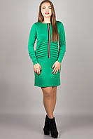 Ментоловое платье