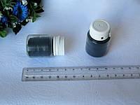 Флок. Цвет чёрный.  р-р 1 мм, объем 20 мл - цена 15 грн
