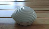 Шкатулка керамическая глянцевая в форме раковины.