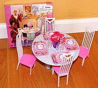 Набор мебели для кукол Gloria 94011 Столовая