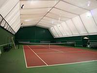 Универсальное резиновое покрытие для теннисных площадок