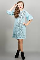 Платье голубая романтика