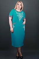 Женское большое платье