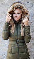Женский пуховик Top Gun Nylon Insulated Down Jacket (оливковый)