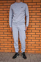 "Спортивный костюм мужской ""Nike"" серый на резинках"