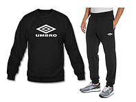 """Спортивный костюм мужской """"Umbro"""" чёрный на резинках"""