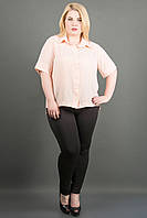 Летние женские рубашки больших размеров
