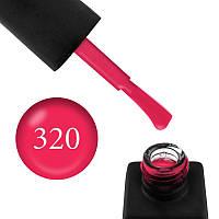 Гель лак Kodi № 320 (розовая малина, эмаль), 8 мл