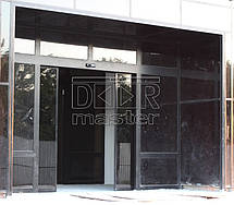 Автоматические двери Geze ECdrive, офис Аэропорт (г. Днепр) 12.09.2014