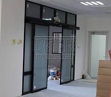 Автоматические двери Geze ECdrive, офис Аэропорт (г. Днепр) 12.09.2014 1