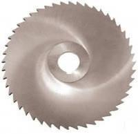 Фреза дисковая отрезная ф  80х1.2х22 мм Р6М5 z=100
