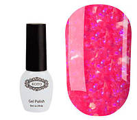 Гель-лак KOTO №639 (ярко-розовый с блестками, неоновый), 5 мл